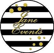 Jane Events, jouw event planner voor zowel zakelijk als prive. Jane Events zit in Deventer. Logo